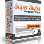 Super Styles WordPress Plugin PLR Package