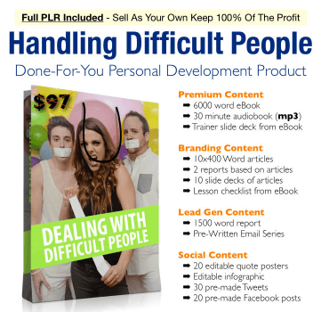 Dealing Difficult People