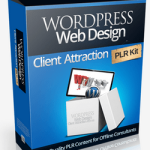 WordPress Web Design Client Attraction PLR Pack (Offline Marketing)
