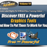 Graphics Creation PLR Videos (White Label PLR Videos Volume 10)