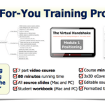 Virtual Handshake PLR Sales Training