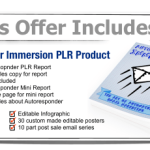 Autoresponder Immersion PLR Package