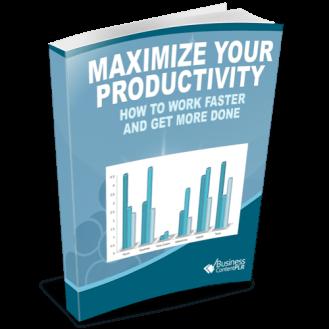 Maximize Your Productivity PLR