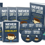 Never Say Later Private Label Rights (Self Help)