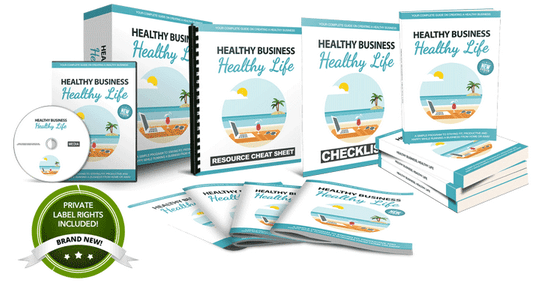 Healthy Business Healthy Life PLR