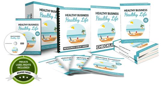 Healthy Business Healthy Life PLR