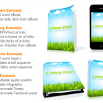A Fresh Start PLR Package