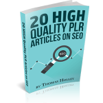 SEO Articles PLR Pack