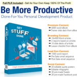 Get Stuff Done PLR Package