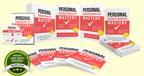 Personal Mastery PLR