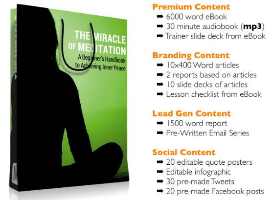 Miracle Meditation PLR