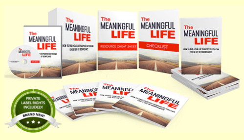 Meaningful Life PLR