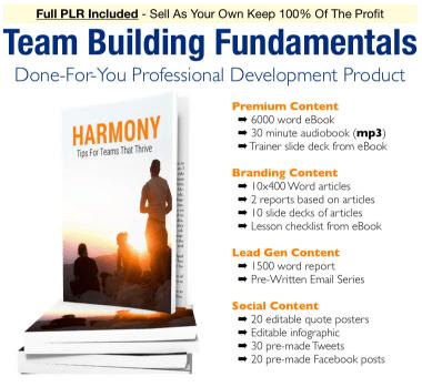 Team Building Fundamentals